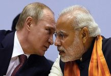 India has taken a strong stand against Russia.