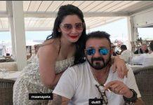 sunjay dutt enjoying of holiday, manyata dutt shared photos