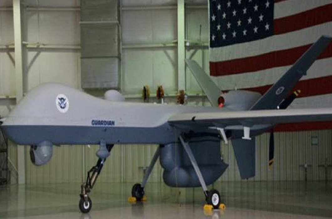 between India and US agreement to sell 22 unmanned drones