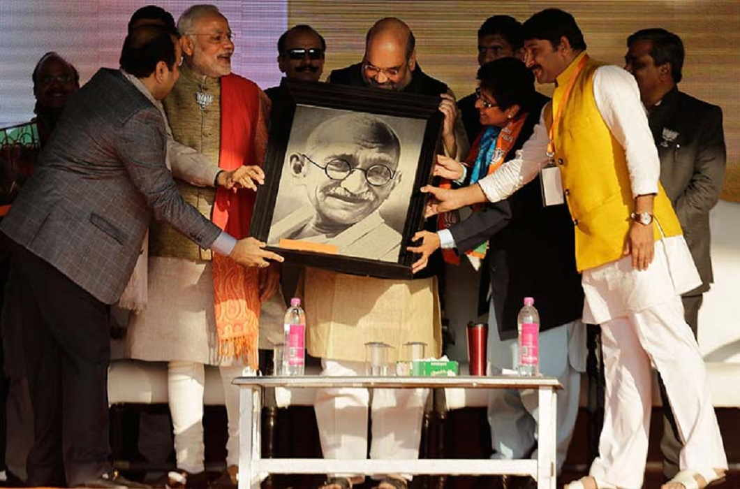Gandhi was very clever, along with being a visionary: Amit Shah