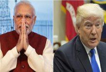 Narender Modi and Donald Trump
