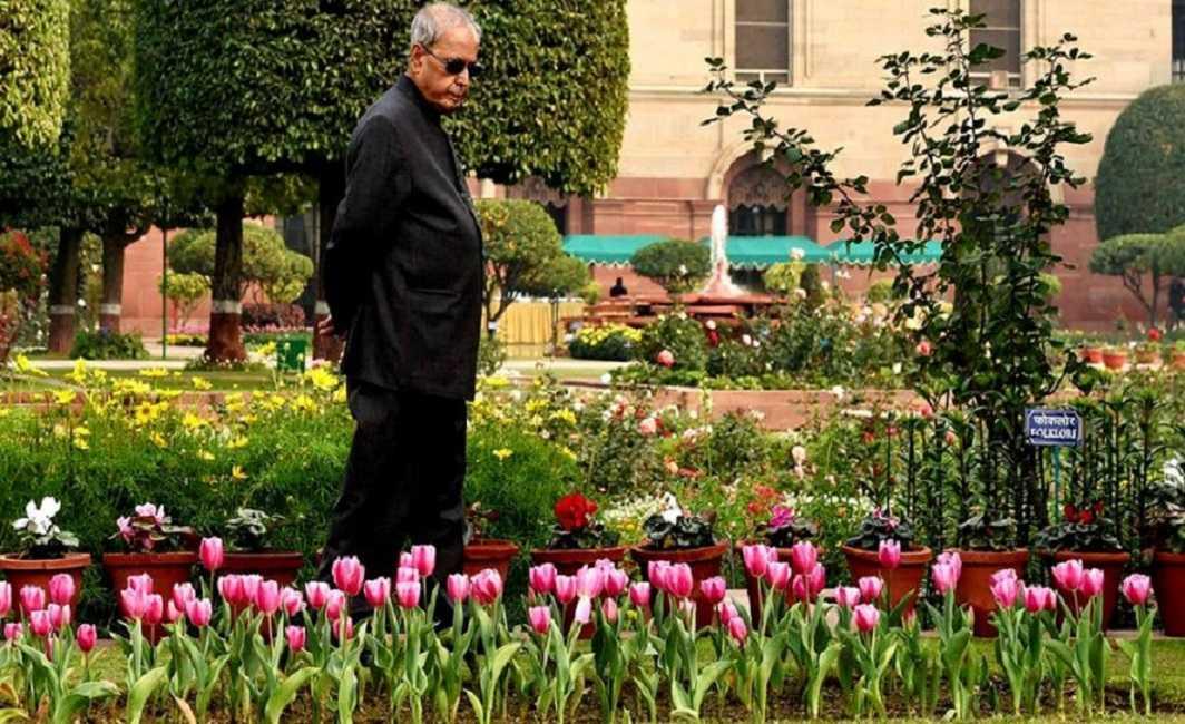President Pranab Mukherjee's farewell ceremony today