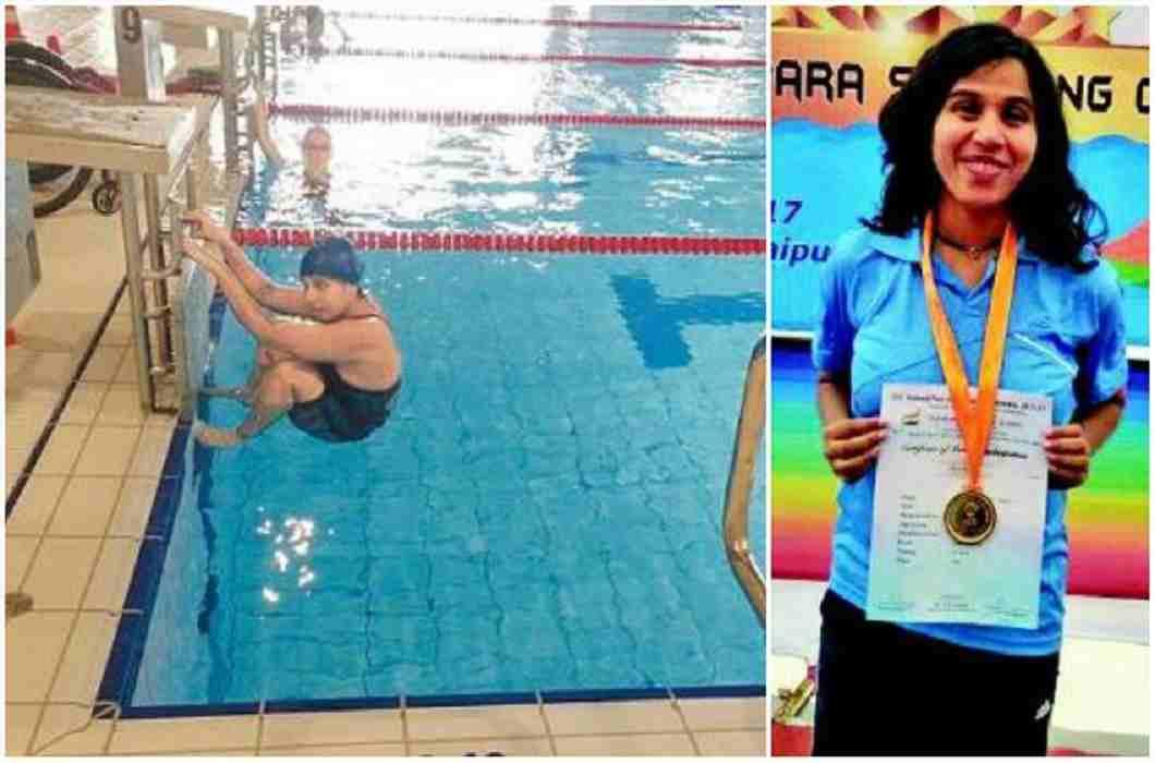 Indian para-athlete Kanchanmala Pande