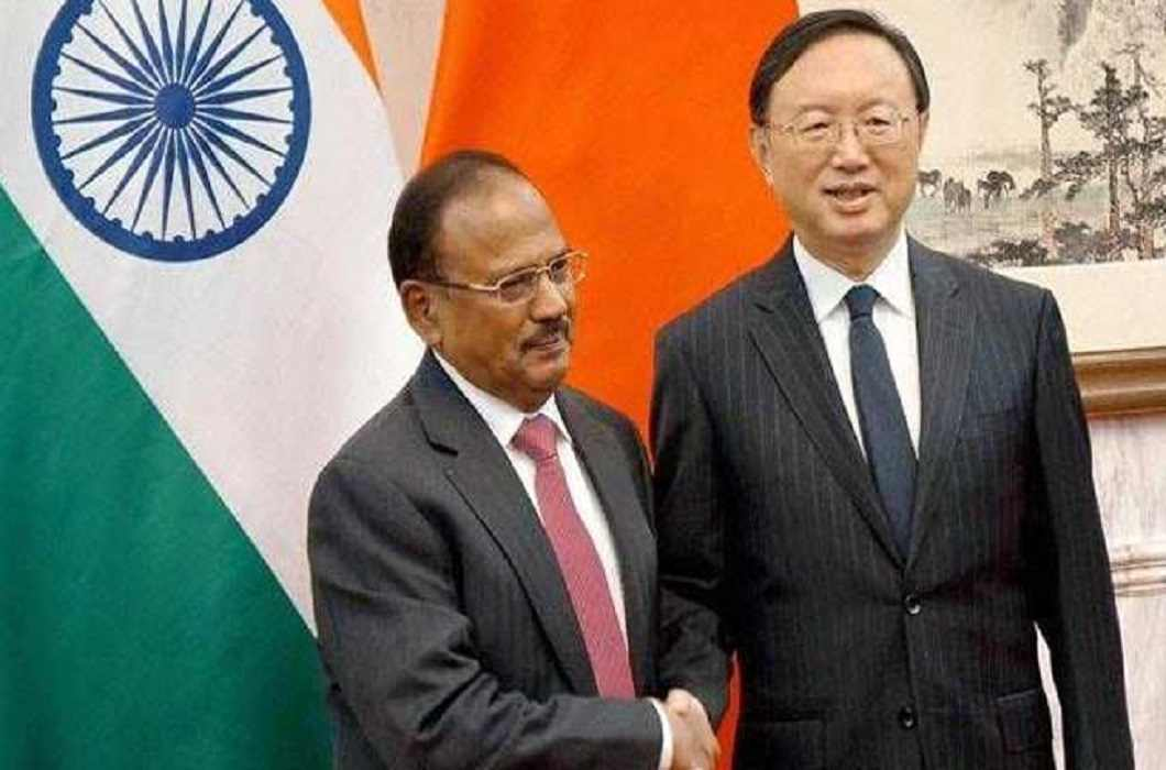 India's National Security Advisor Ajit Doval & Chinese State Councilor Yang Jichy