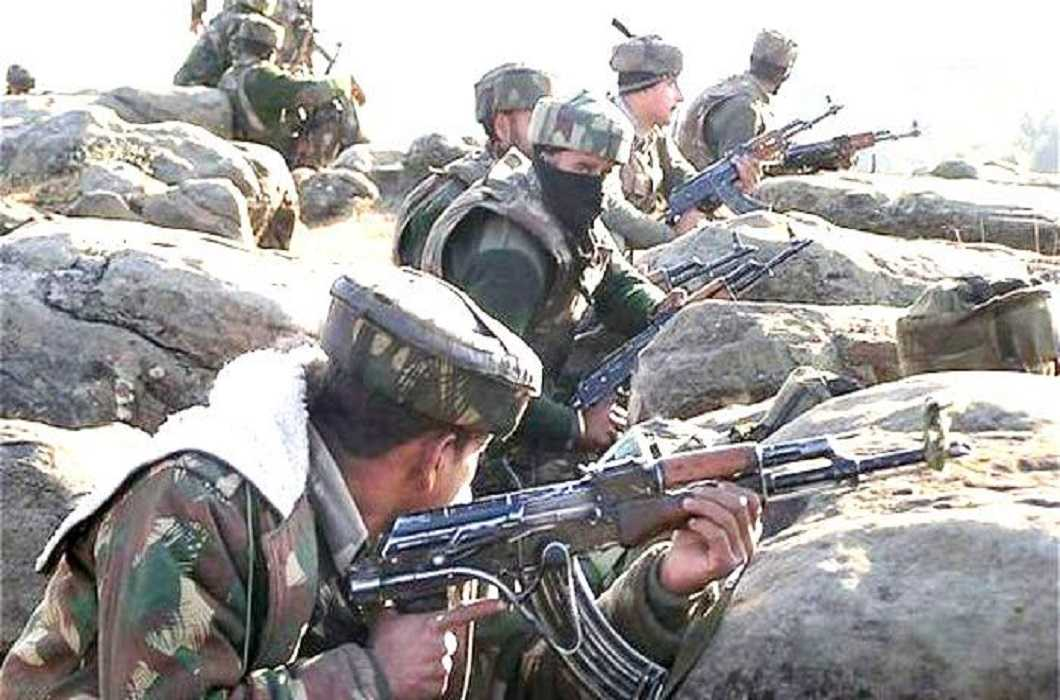 Pakistan has once again violated the ceasefire on the border
