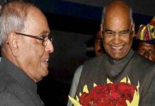 Ramnath Kovind will sworn in today as the 14th President of the country