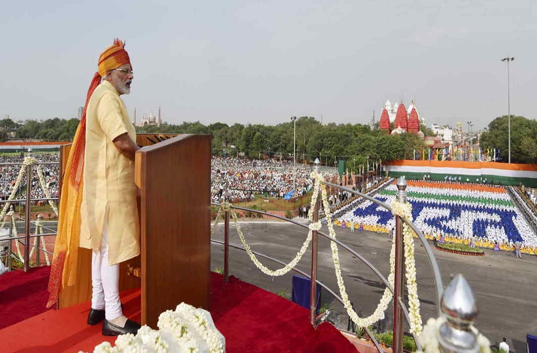 PM gives message of 'New India' at independence day