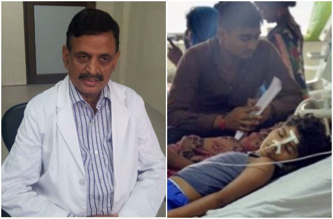 Gorakhpur Incephlitis case: Former Principal of hospital and wife arrested, Dr. Kaifil absconding