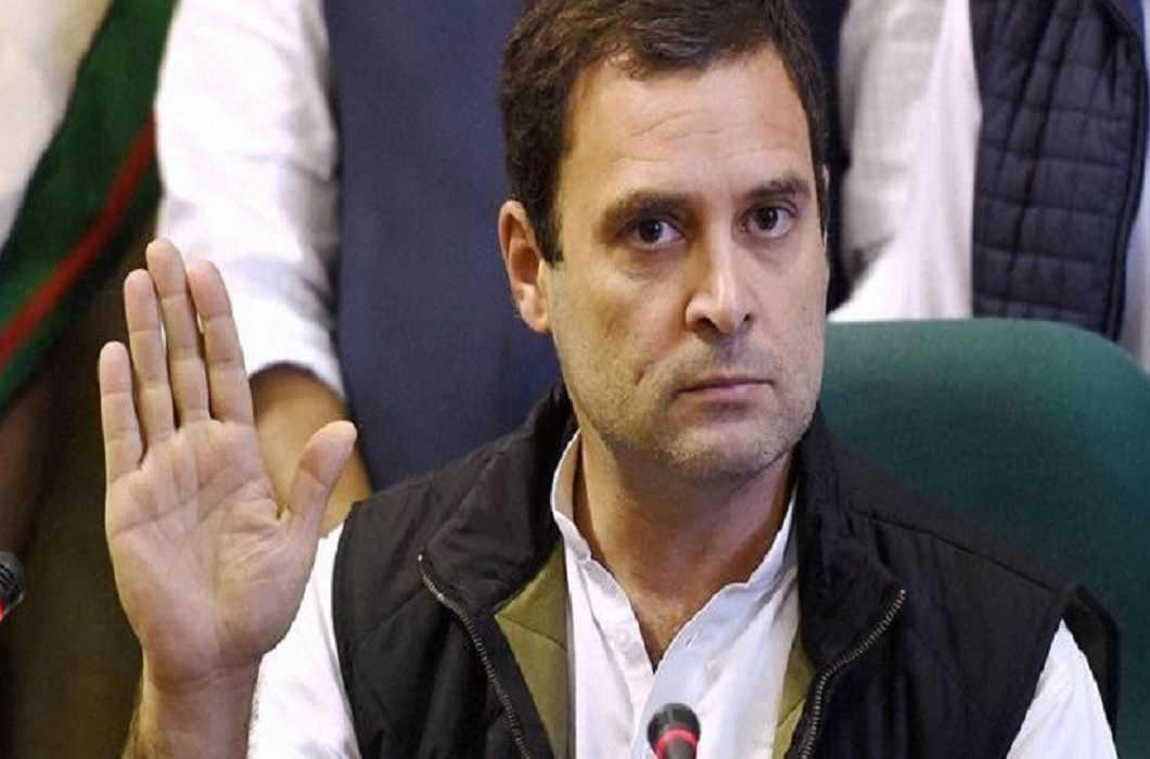 Attack on Rahul Gandhi
