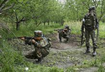 Jammu and Kashmir: Two militant die in joint operation of army and police