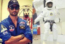 Sushant took Training in NASA for Chanda Mama door k