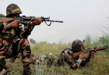 terrorist and 1 stack caught during the encounter in Shopian