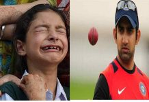 Gautam Gambhir took responsibility for the martyr's daughter's education in terrorist attack