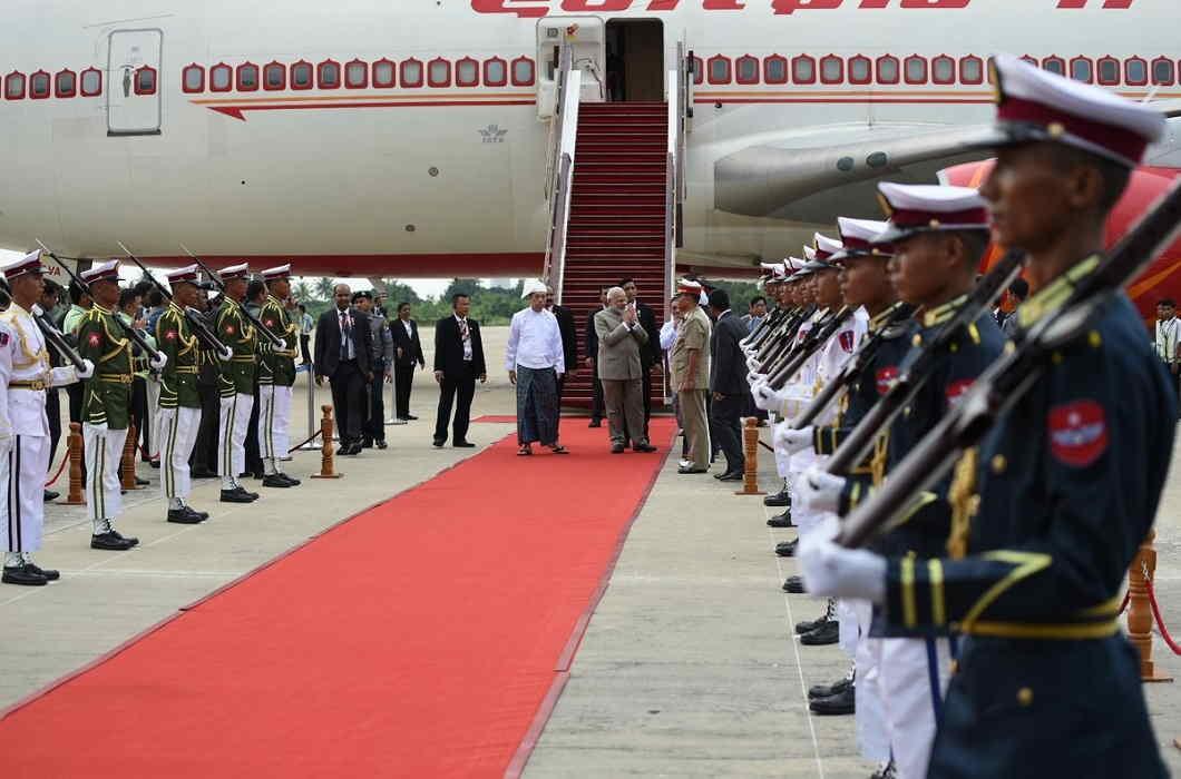 Modi Myanmar visit