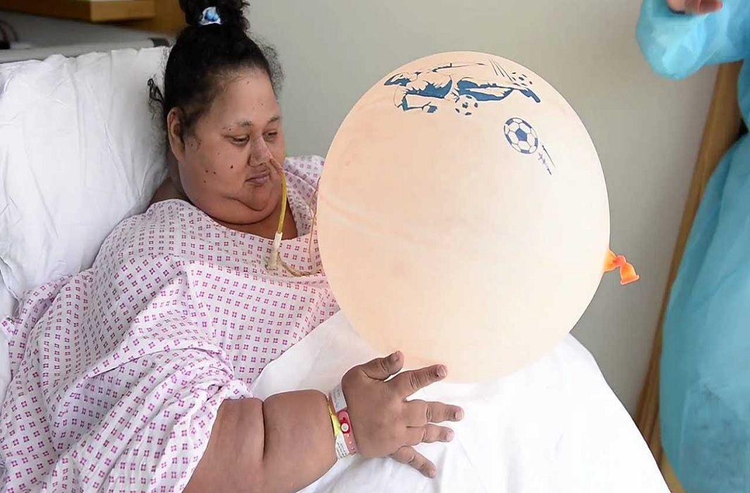world's largest weight women died in abu dhavi