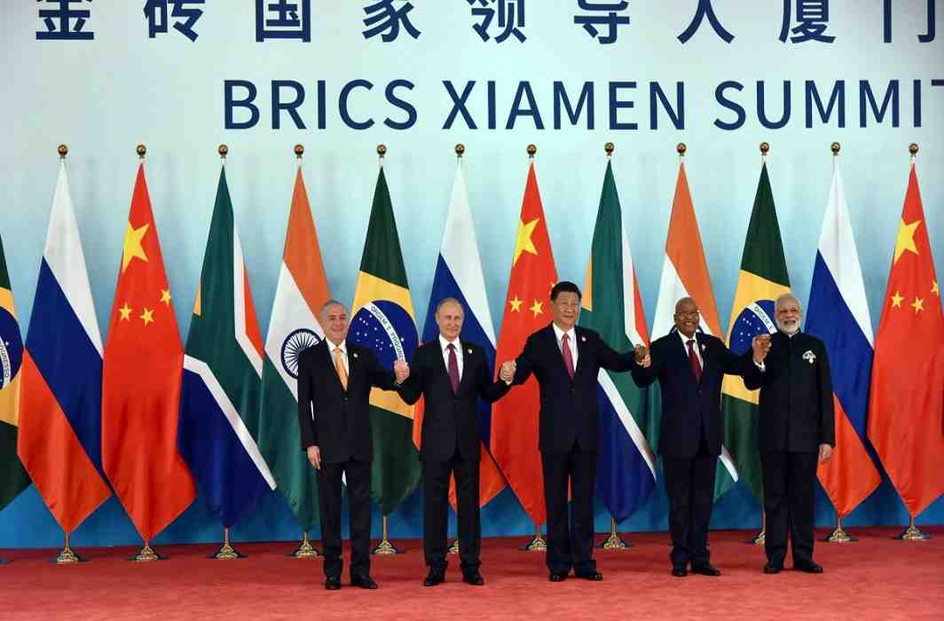 Prime Minister Narendra Modi has addressing BRICS summit in China's port city of Shyam