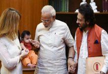 PM Modi welcomes 'Madina'