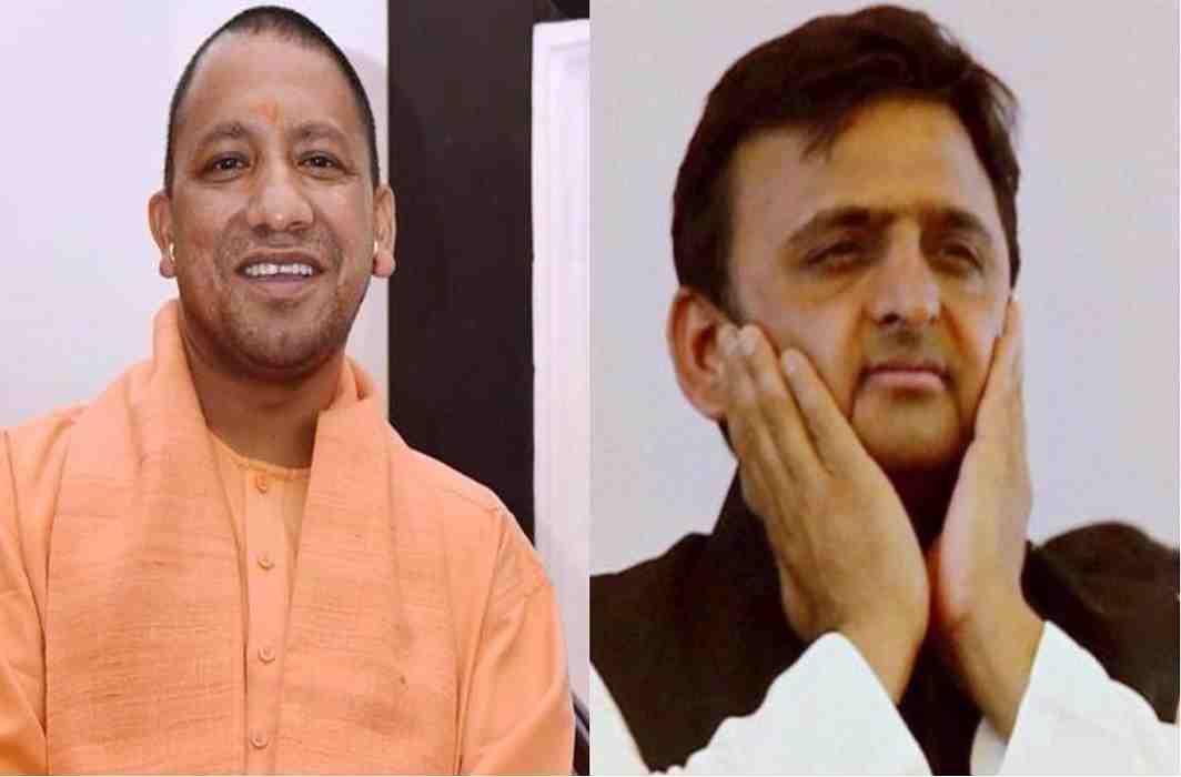 CM Yogi & Akhilesh YAdav