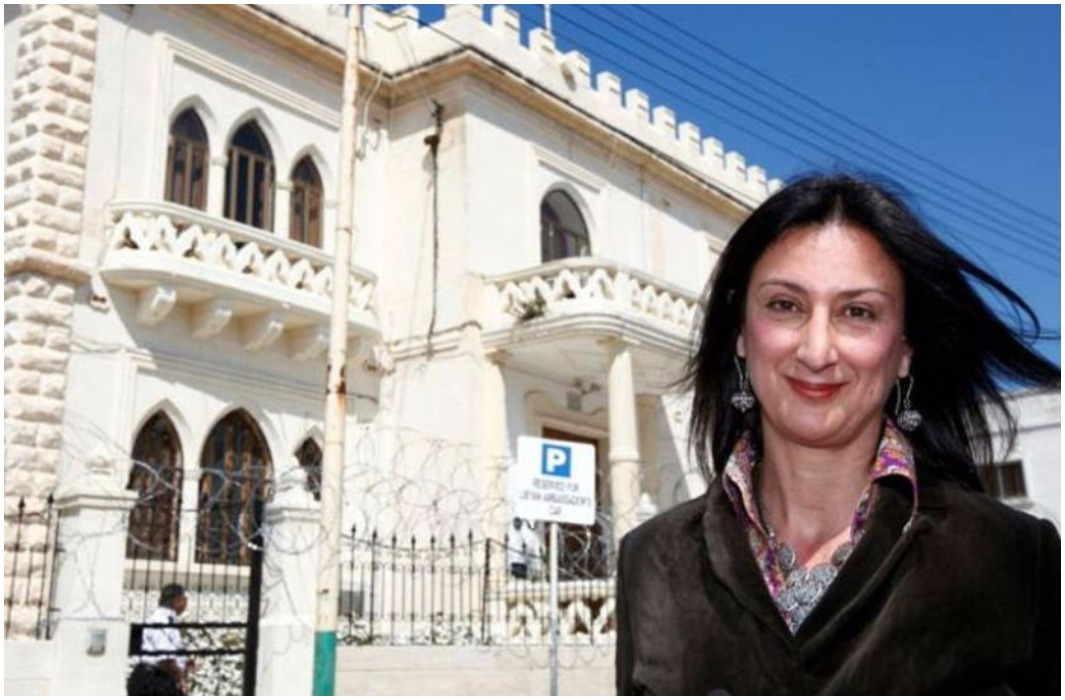Journalist Malta