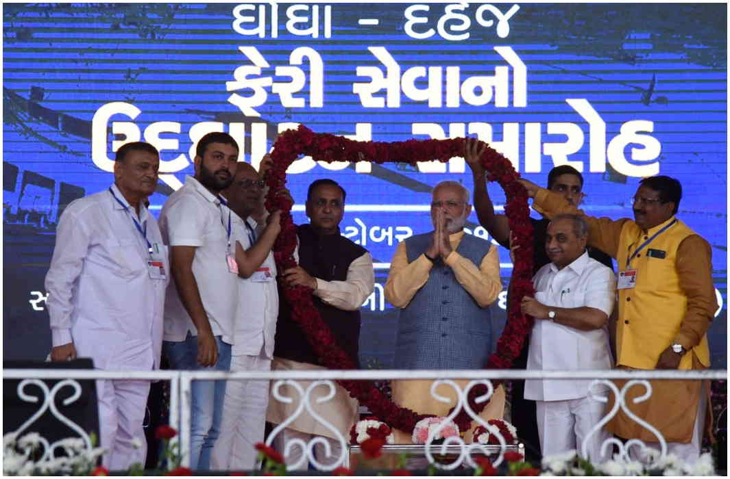 PM Modi in Gujarat