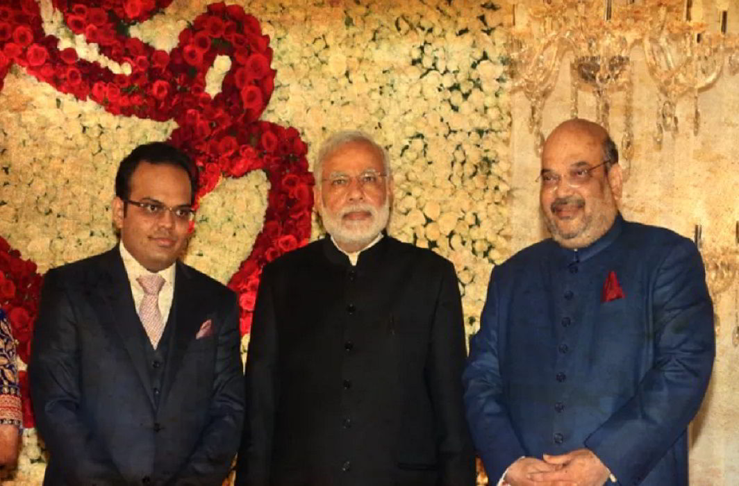 Jaya shah,Narendra Modi,Amit Shah,