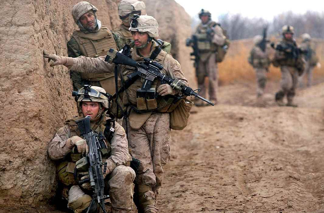 joint operation of America and Afghanistan troops together on pakistan and 22 IS Terror died
