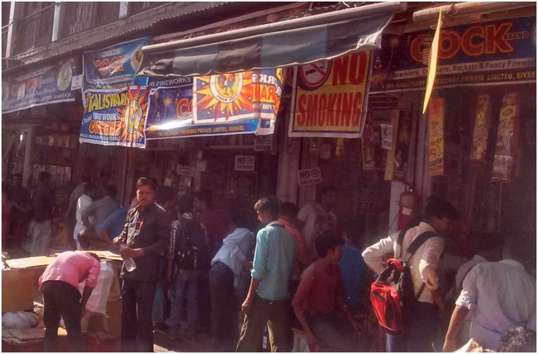 Ban on crackers shop