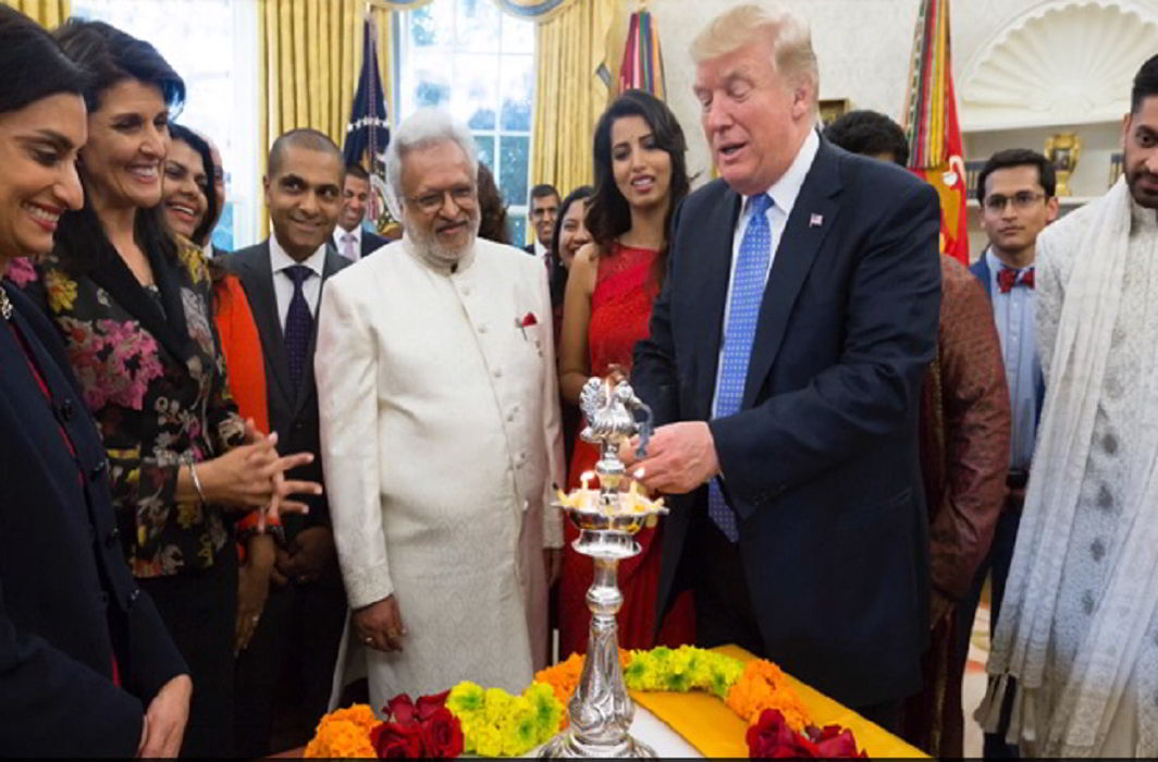 Diwali celebrates in White House