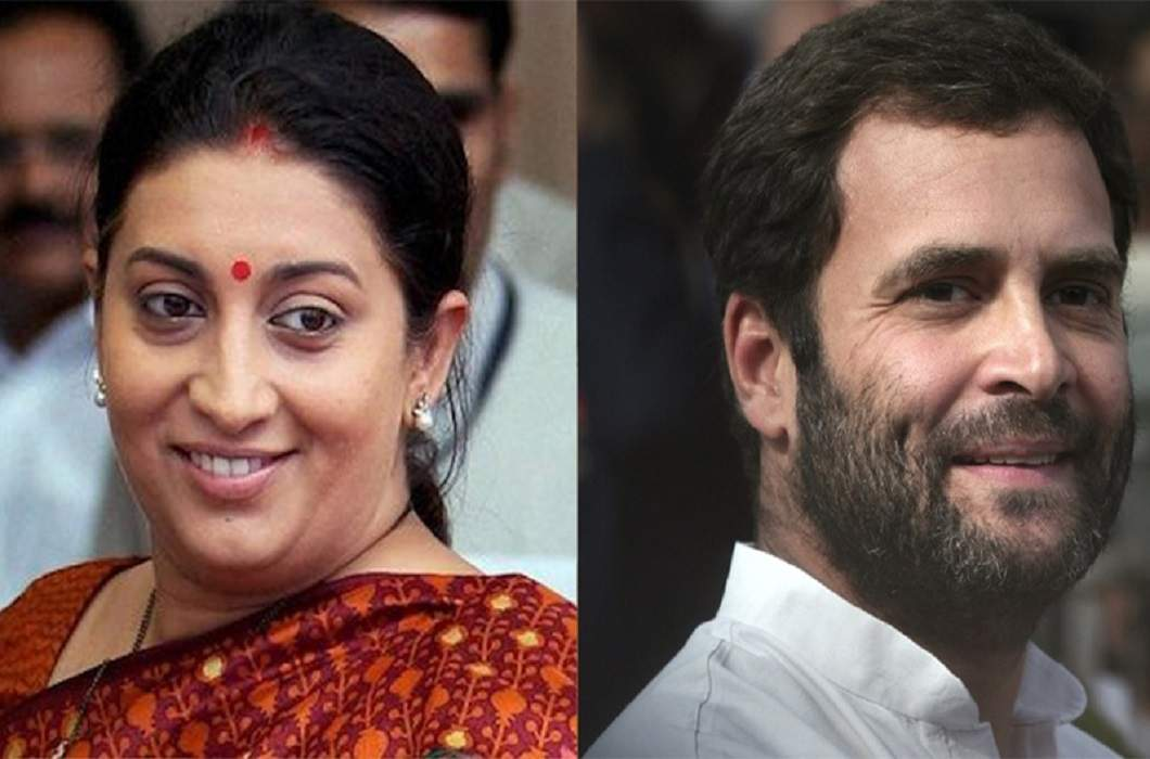 Rahul in Gujarat so Smriti Irani in Amethi
