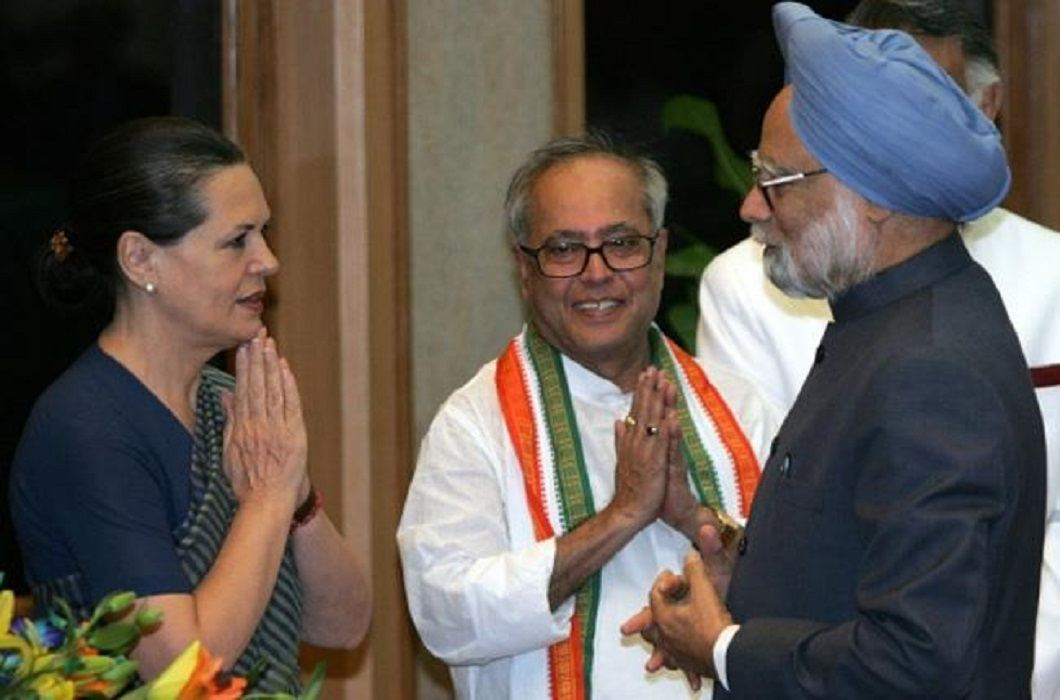 Pranab Mukherjee think Sonia Gandhi will make Manmohan Singh the President and I will be Prime Minister