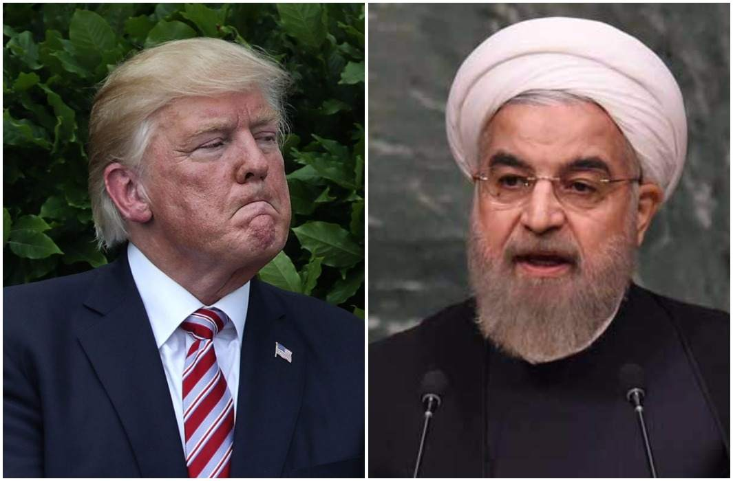 Trump threatens to break nuclear deal with Iran and The answers given by the President of Iran