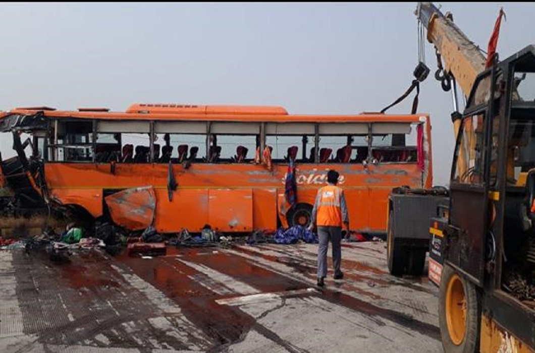 Himachal School bus met with accident