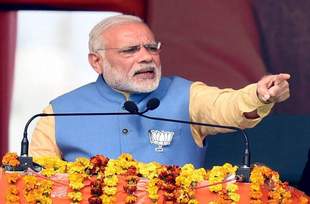 PM Modi hails the makers of constitution