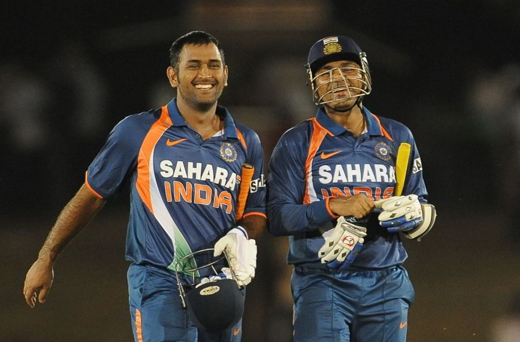 MS Dhoni & Virender Sehwag