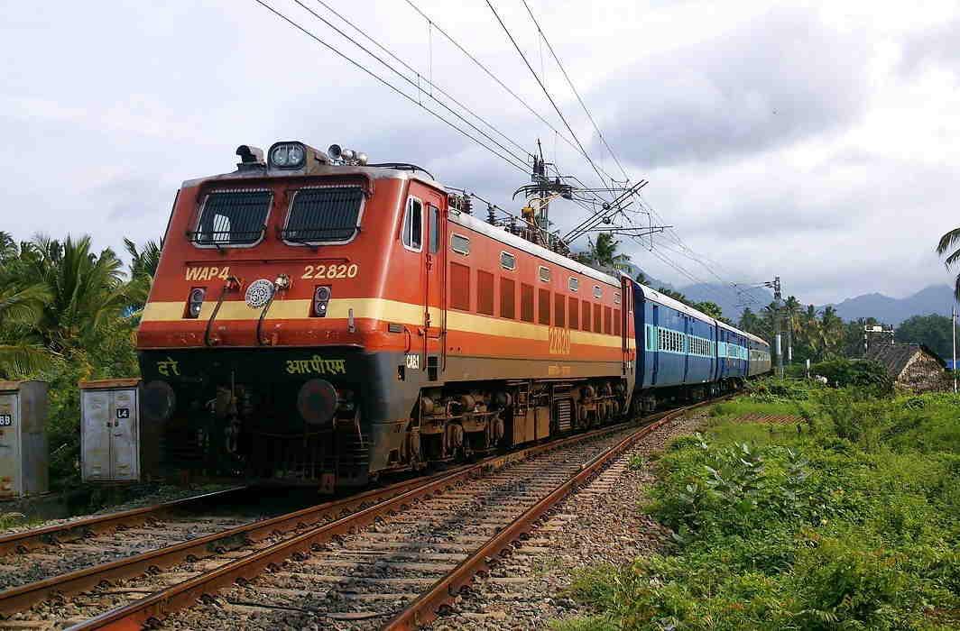Crime in train in UP