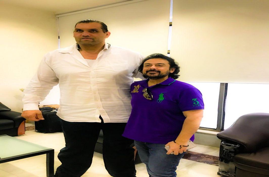 adnan sami trolled on selfie with the great khali