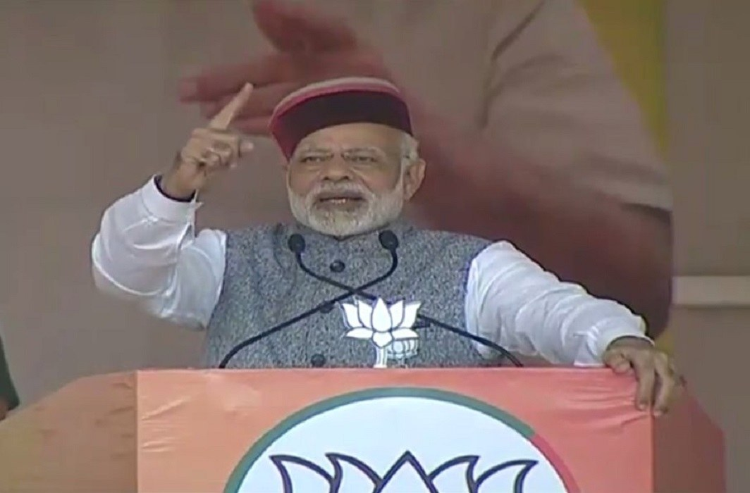 pm modi on the himachal tour for two days and told termite to congress