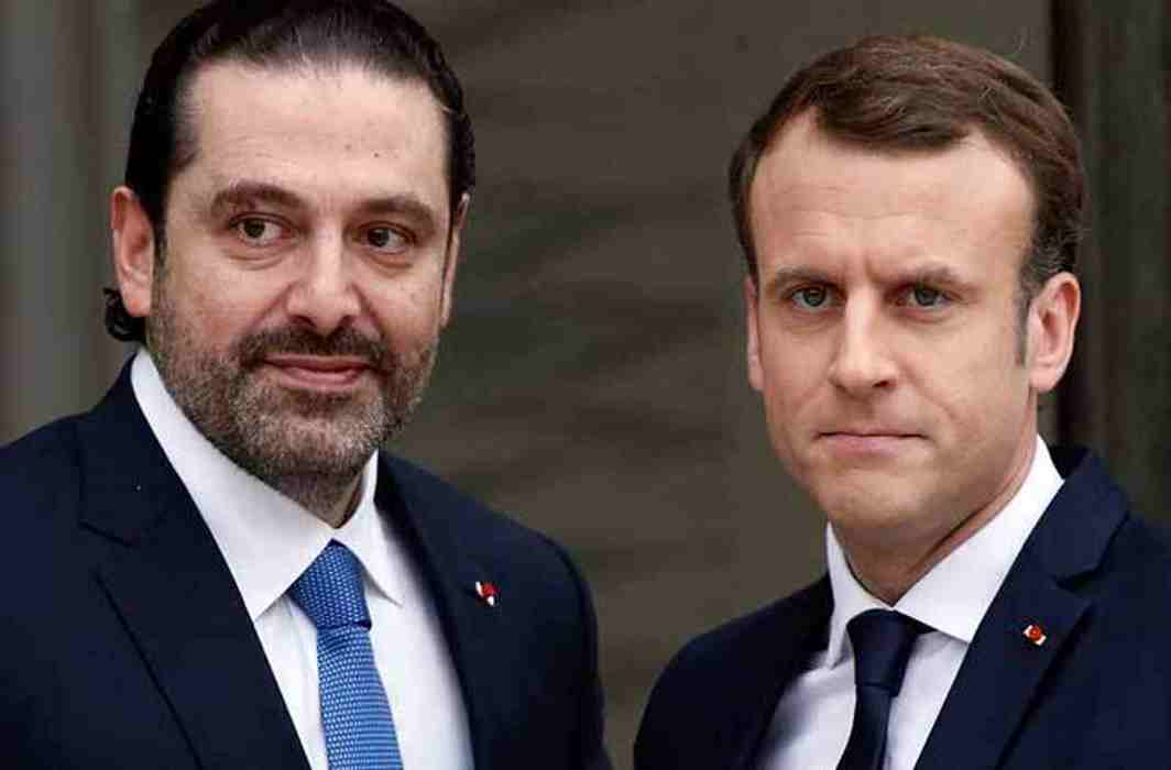 Lebanese crisis: Hariri meet with macro and after Reaching lebanon the situation will clear on the resignation