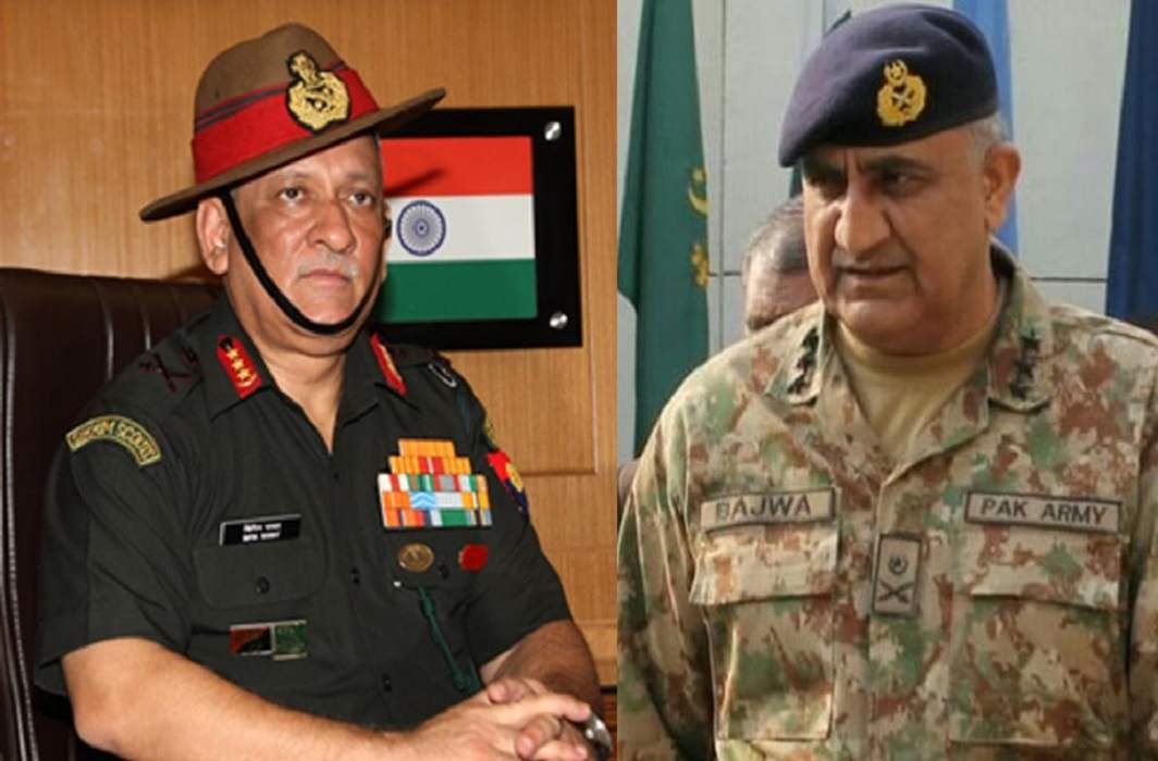 Pak army chief said to mla to improve relations with India