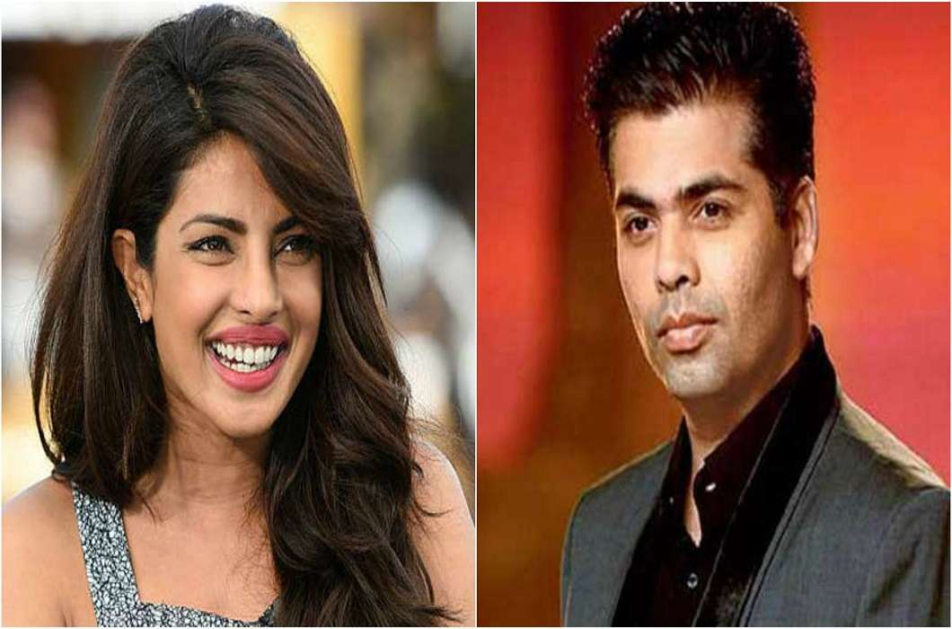 Priyanka Chopra slapped Karan Johar on the reality show