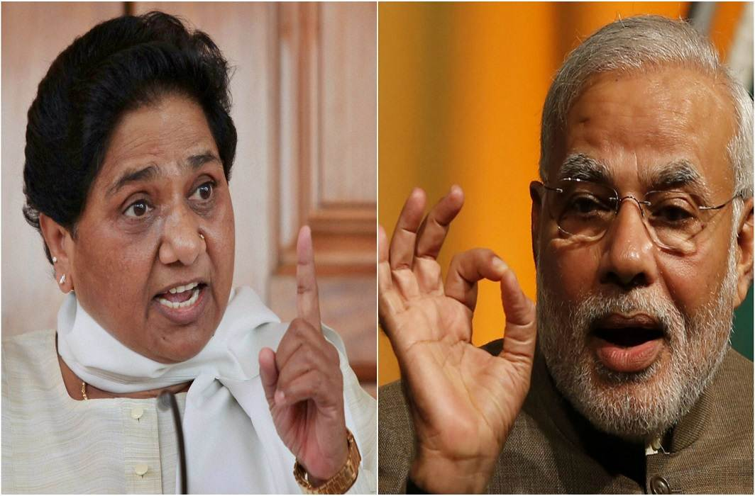 'If you have courage, show BJP by ballot paper and show' BJP: Mayawati