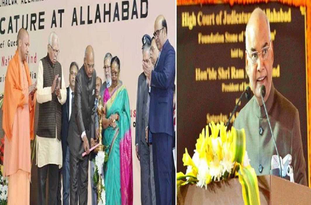 How does MPresident Ramnath Kovind, laid the foundation of 'Nyay Gram township'odi come to in Gujarat Election? You also see