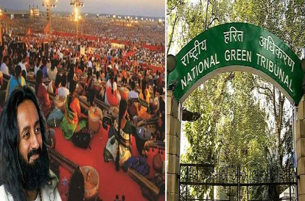 Damages to Yamuna, Art of Living Responsible - NGT