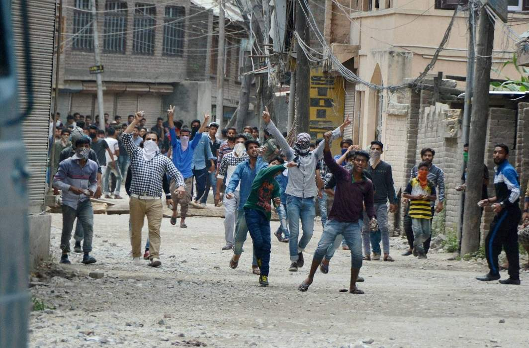 problem of Kashmir has again been raised for the Modi government
