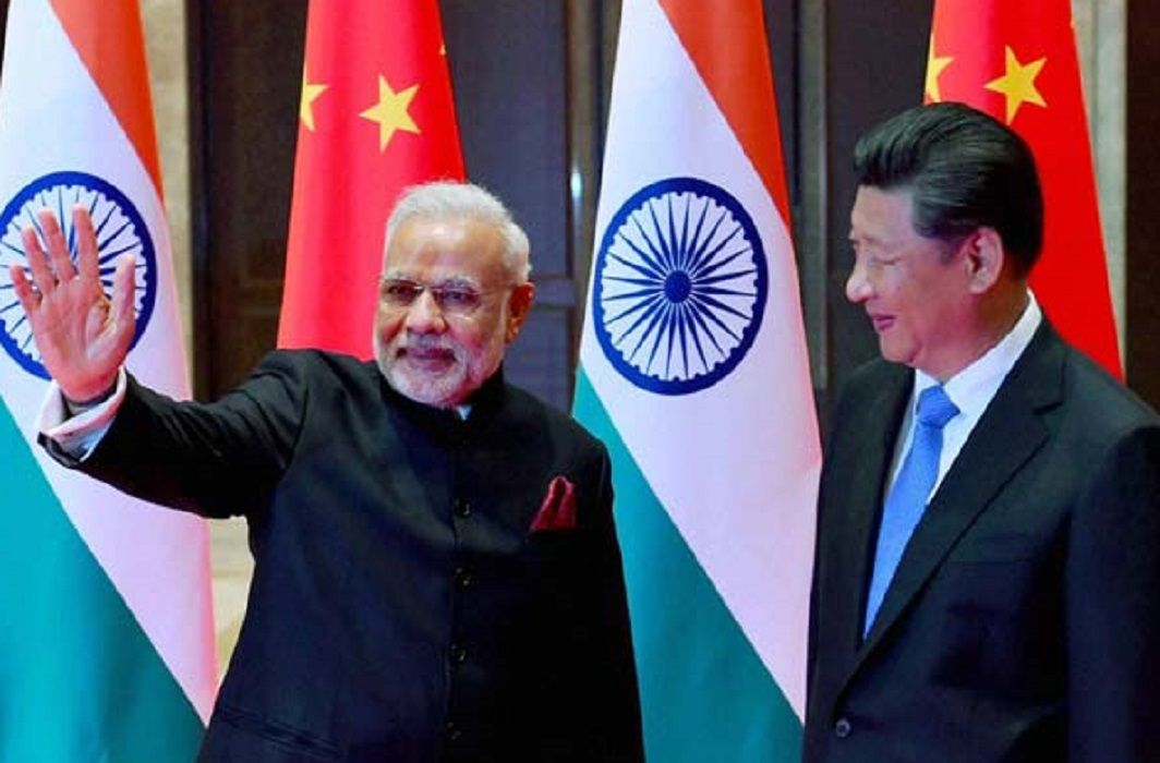 China fan of Modi government foreign policy and Said - India's ability to take risks increased