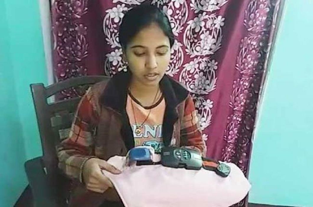 19-year-old Sinu prepares 'Antirep Panties', impossible to open with out password