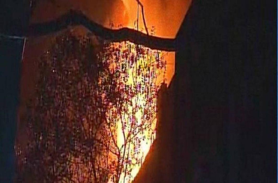 Fire in Mayanagari again,Fire Breaks Out At Navrang Studio In Mumbai's