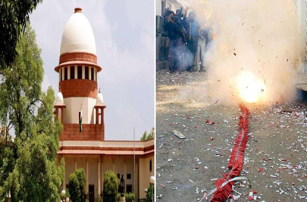 Case of ban on firecrackers - CPCB filed report in Supreme Court