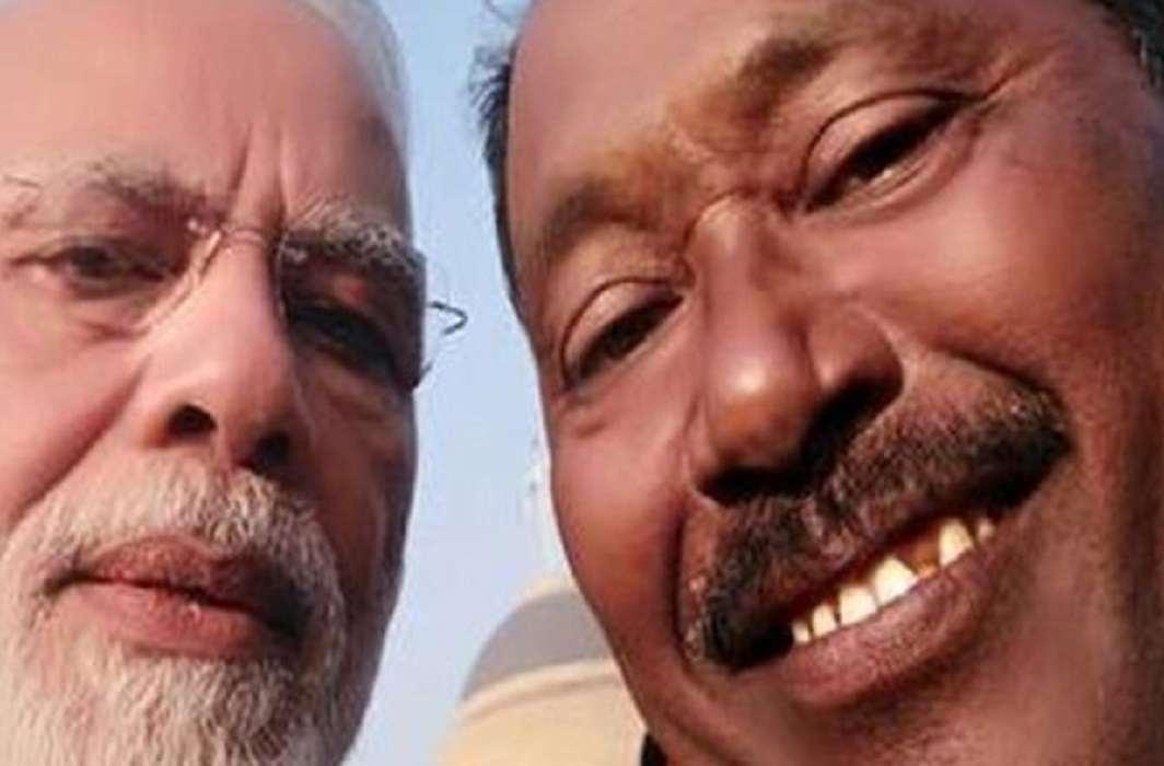 Prime Minister Narendra Modi took Selfie with Karimul Haq