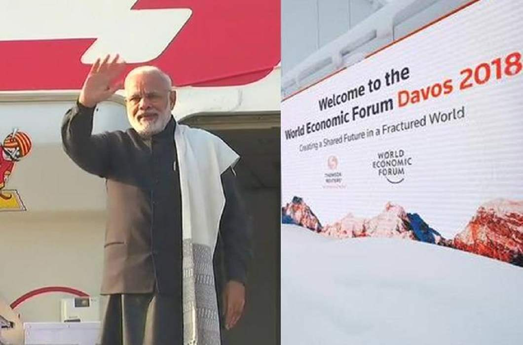 Modi will be the second prime minister to go to Davos after 20 years